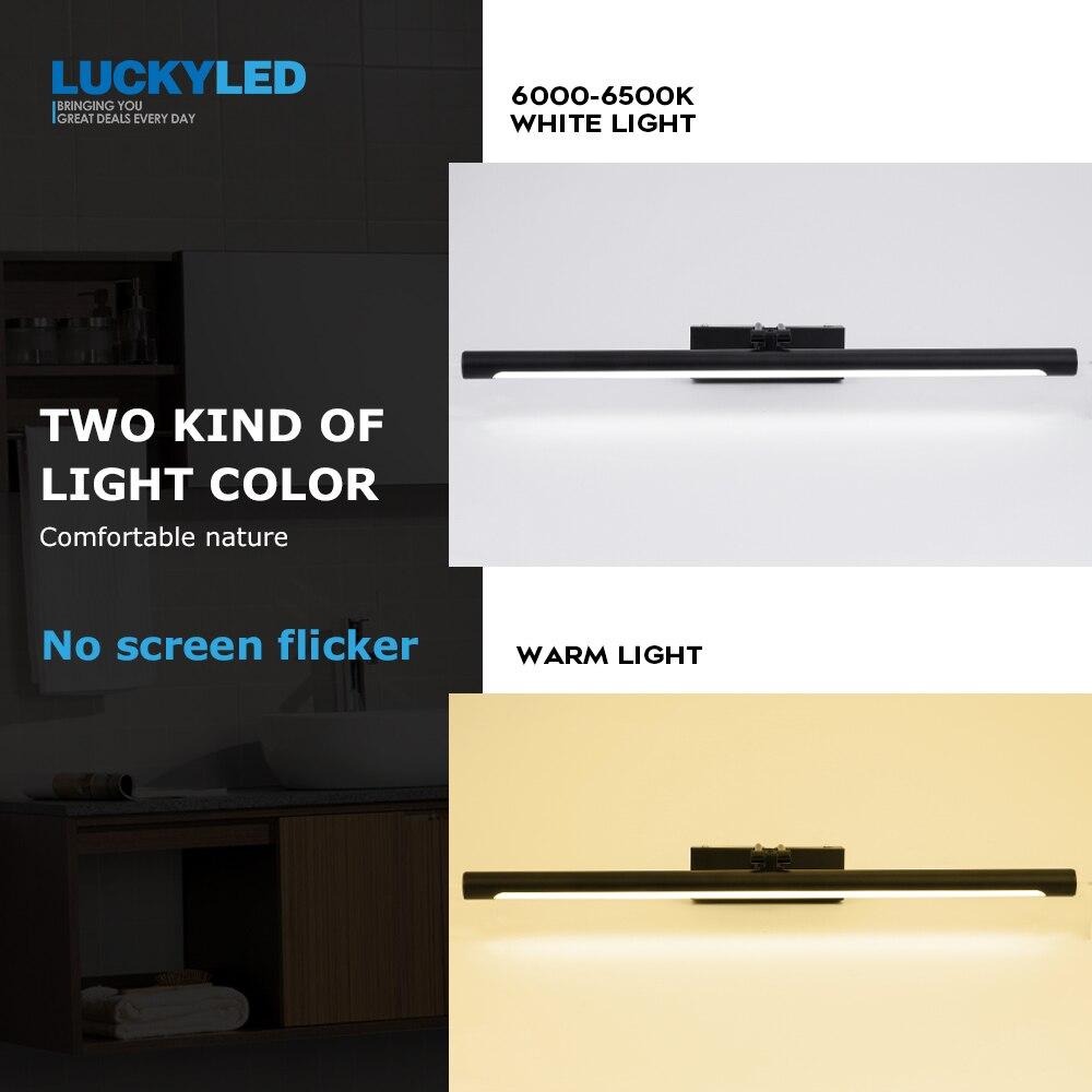 espelho de luz 12w 55cm lampada 03