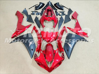 4Gifts New ABS Injection Mold motorcycle Fairings Fit For Yamaha YZF-1000-R1 2007 2008 07 08 Fairing bodywork set custom red