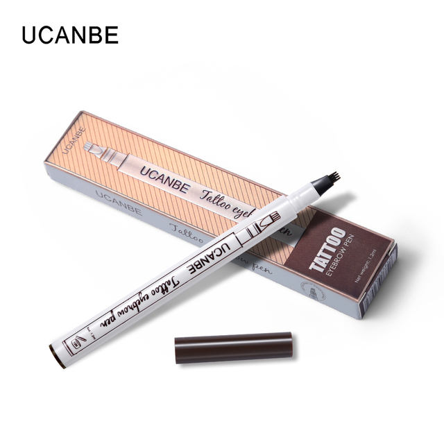 Music Flower Makeup Fine Sketch Liquid Eyebrow Pencil Waterproof Microblading Tattoo Super Durable Smudge-proof Eye Brow Pen 1