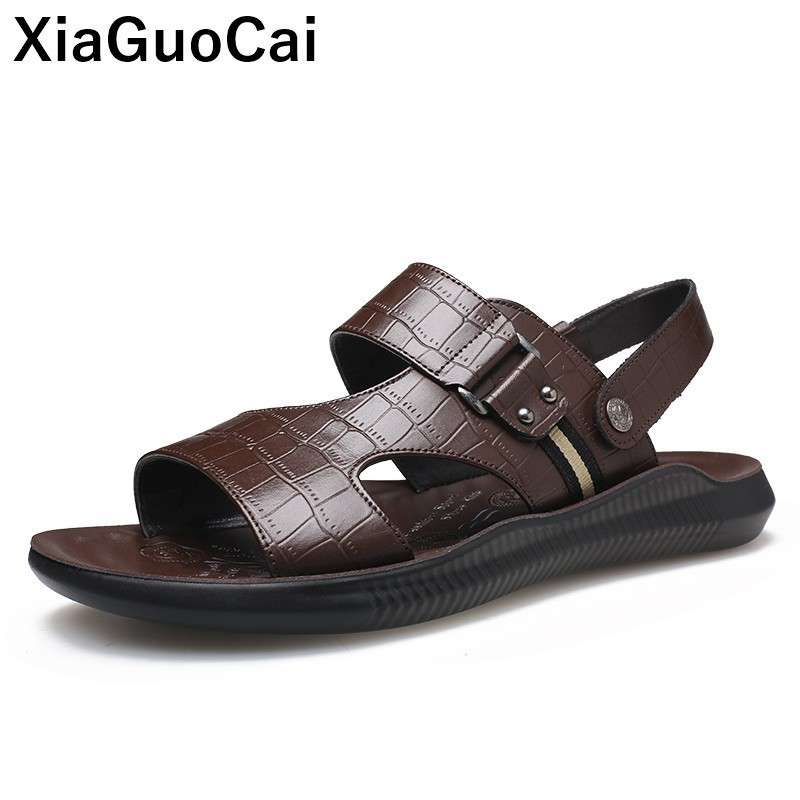 NEW MENS BROWN CASUAL BEACH FLIP FLOPS SUMMER SHOWER MULES SHOES SANDALS SIZE