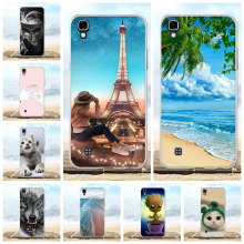 For LG X Power K220 K220DS Case Soft TPU Silicone power LS755 Cover Geometric Patterned US610 K450 Coque