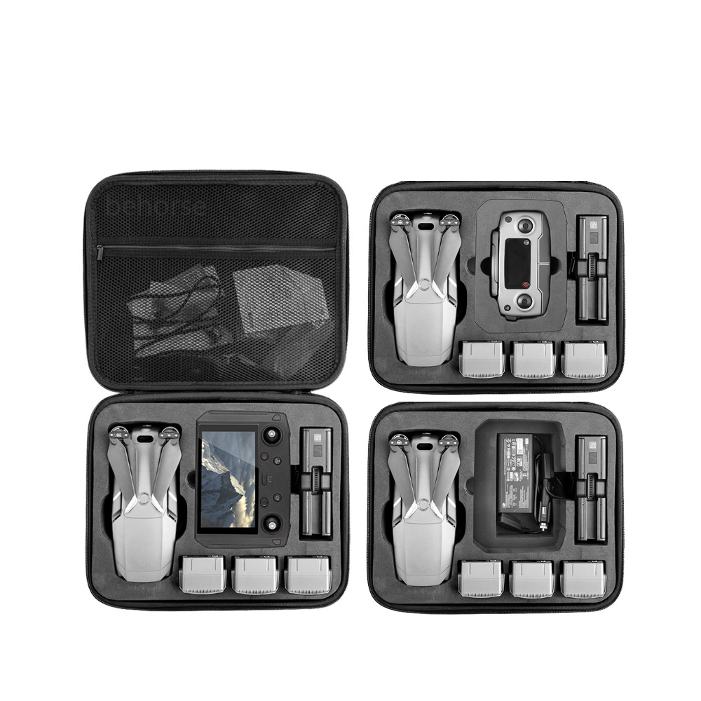 DJI Mavic 2 Pro/Zoom Carrying Case Hardshell Aluminum Box Portable Storage Bag Waterproof Suitcase EVA Quadcopter Accessories|Drone Bags| |  - title=