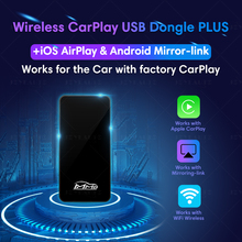 New Upgrade 2.0 USB Wireless CarPlay Dongle for New Benz Audi Porsche Universal Car Player Mirror-link Type A/Type C available