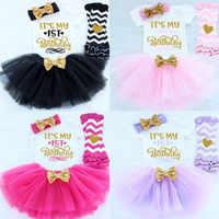 It's My 1st 2nd Birthday-vestido para niña, vestidos para niña, ropa de fiesta infantil para niño pequeño, ropa de bebé, trajes de pastel de tutú