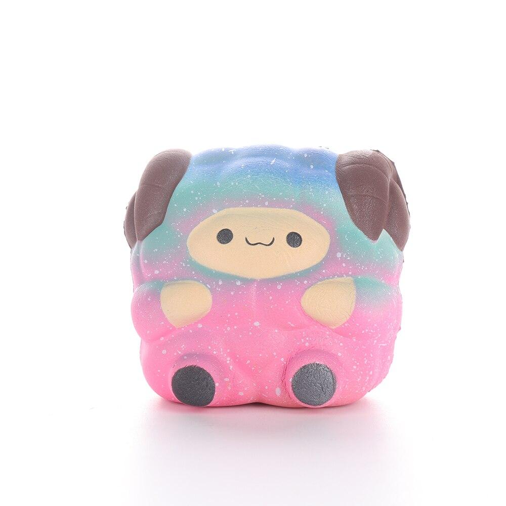 Kawaii Squishy Antistress Entertainment Rebound Toy Cute Alpaca Children Stress Relief Anti-stress Squeeze Toys Kids Gift D9