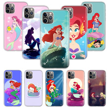 Ariel Little Mermaid Case for Apple iphone 11 Pro XS Max XR X 7 8 6 6S Plus 5 5S SE 10 Ten Gift Silicone Phone Cover Coque ten little niggers