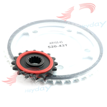 Motorcycle Sprocket Is Suitable For HONDA NC700 2012-2015 13 14  Front Rear Sprocket High-Quality Hardened Gear