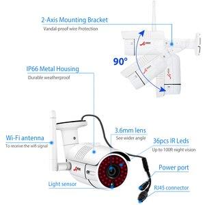 Image 5 - Système de caméra de sécurité sans fil ANRAN 5.0MP HD H.265 NVR Kit 4 pièces caméra IP Wifi système de caméra de vidéosurveillance