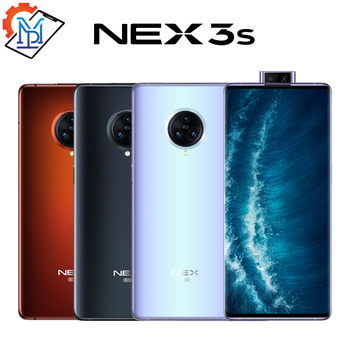 Перейти на Алиэкспресс и купить Vivo Nex 3S мобильный телефон, экран 6,89 дюйма, 8 ГБ + 256 ГБ, Snapdragon 865, 64.0MP NFC