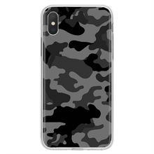 Camuflagem padrão inspirado silicone caso de telefone para bq aquaris c u2 u v x2 x lite pro plus e4.5 m4.5 x5 e5 4g m 2017