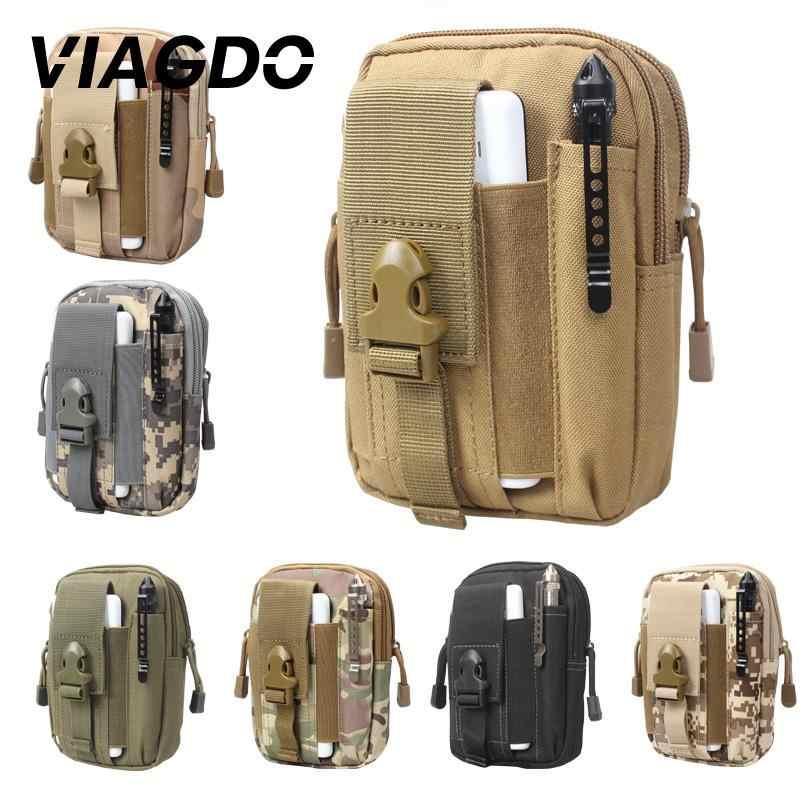 Esportes ao ar livre tático saco militar cinto bolso cintura caminhadas escalada correndo bolsa de viagem daypack carteira