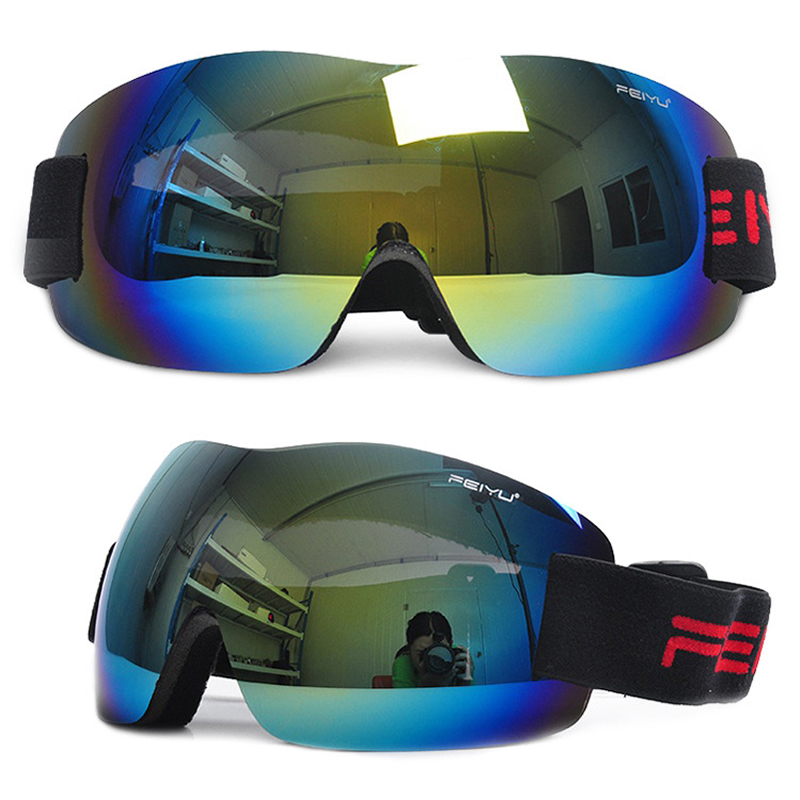 Ski Goggles Men Women Snowboard Goggles Single Lens Glasses For Adults Skiing Cycling Hiking Eye Protection