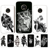 Funda de teléfono para motocicleta con dibujos animados, cubierta de la UE para Motorola Moto G9 G8 G7 Power G6 G5S G5 E6 E4 E5 Plus Play G4 One Action X4