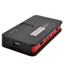 For Xbox360/One PS3/4 EZcap 284 EZcap284 HD Game Capture 1080PAV/Ypbpr Video Capture Recorder Box into USB Disk SD Card carprie hd game capture card hd video capture 1080p hdmi ypbpr video recorder for xbox 360 xbox one ps3 ps4 wii u drop shipping