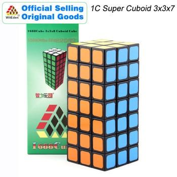 WitEden 1C Super Cuboid 3x3x7 Magic Cube 1688Cube 337 Speed Twisty Puzzle Brain Teasers Educational Toys For Children super brain