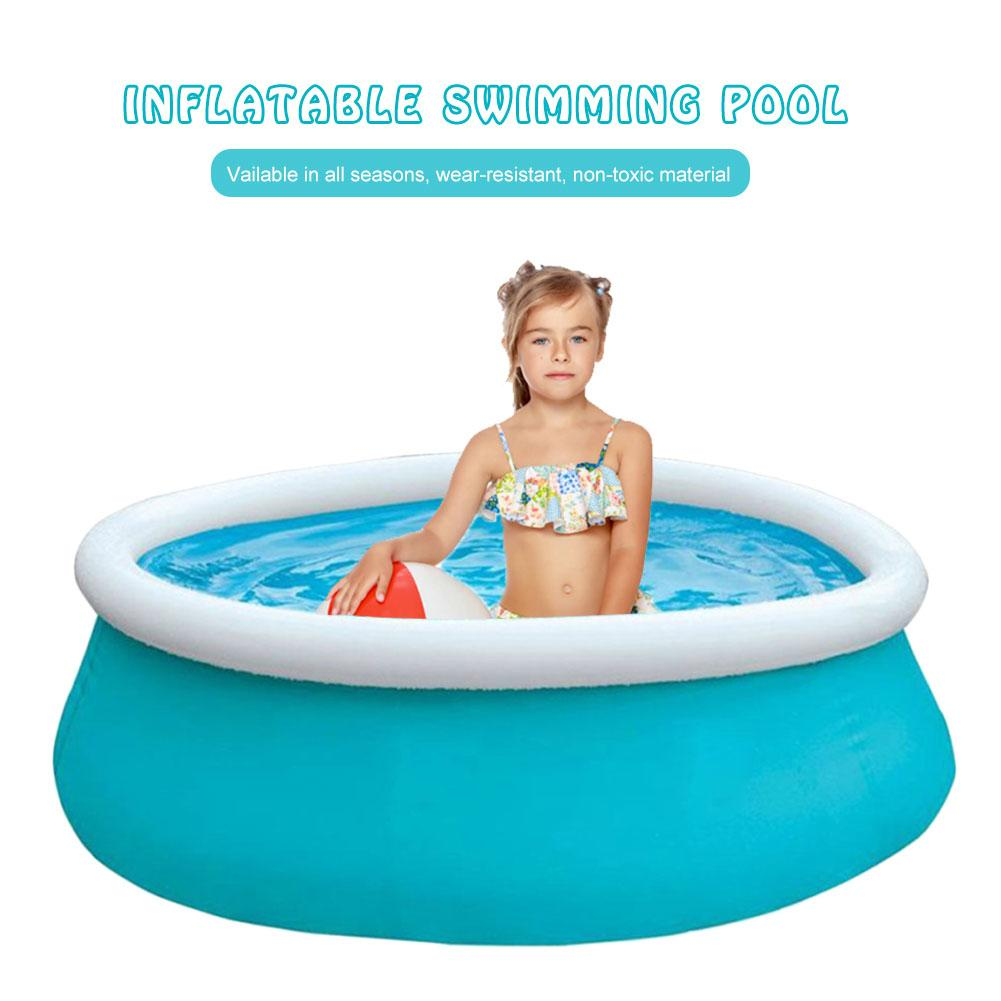 Pscina Inflatable Round Swimming Pool PVC Pool Accessories Thickened Ocean Ball Pool Larger Family Supplies