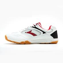 Мужская обувь для настольного тенниса; удобные мужские Нескользящие профессиональные спортивные кроссовки; дышащая мужская теннисная обувь