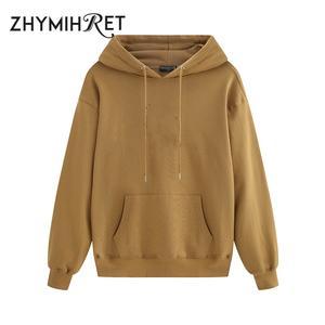 Sweatshirt Pullover Hoode Spring Streetwear Casual Fashion Women Vip-Link Female