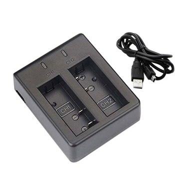 USB двойное зарядное устройство 1 шт. 1050 мАч перезаряжаемая литий-ионная батарея для камеры EKEN H9 H9R H3 H3R H8PRO H8R H8 pro спортивная Экшн-камера