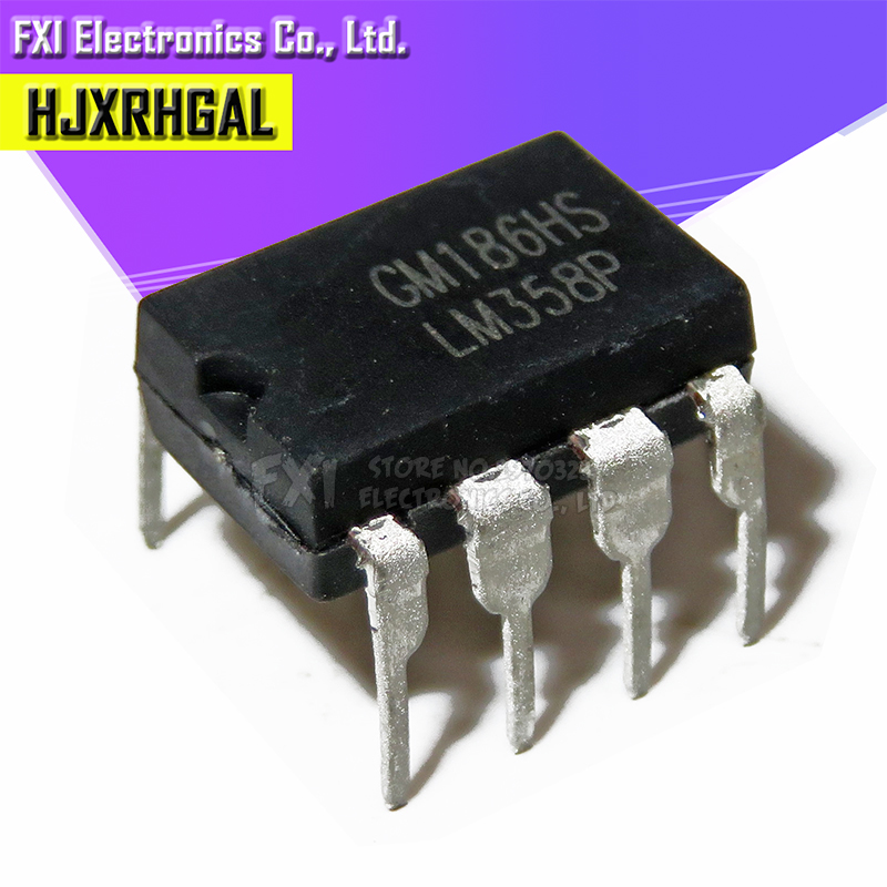 10PCS LM358P DIP8 LM358 DIP LM358N Operational Amplifier New Original