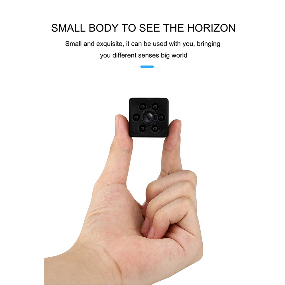 Mini Spy Camera 1080P Full HD Hidden Camera Mini Nanny Camera with Night Vision Motion Detection for Home Car Office Outdoor image