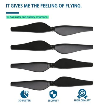 4PCS Quick Release Drone Propellers for DJI Tello Mini Drone Propeller CCW/CW Props Spare Parts Drone Accessories masiken 4pcs quick release propellers for dji tello mini drone propeller ccw cw props drone accessories