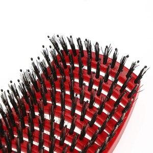 5 цветов, женские волосы, массажная расческа для головы, нейлоновая щетина для волос, влажная, кудрявая, расческа для волос для салона, инструменты для укладки волос