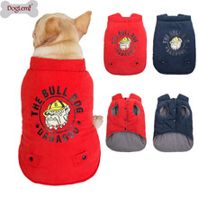 Winter pet coat clothes for dogs clothing Warm Dog small Christmas big dog Bulldog