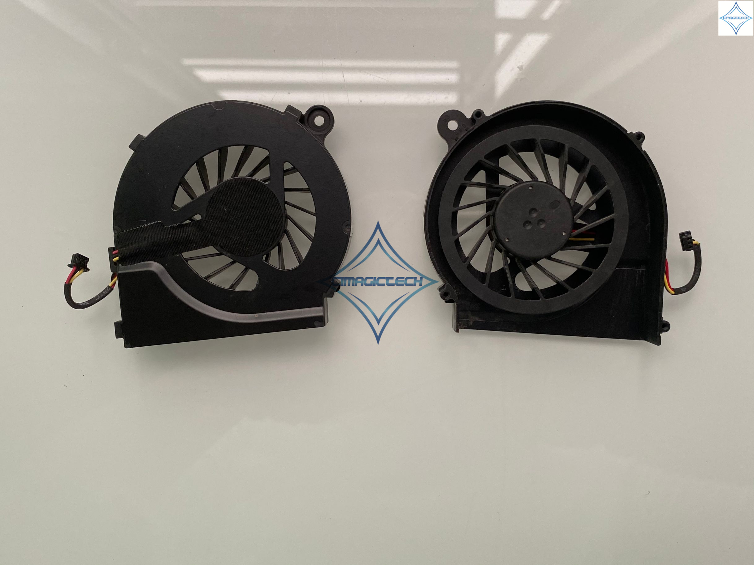 original new for HP CQ42 G4 G6 G4-1000 G6-1000 G7-1000 CQ56 G42 CQ62 G62 646578-001 DFS531105MC0T 3PIN laptop cpu cooling fan image
