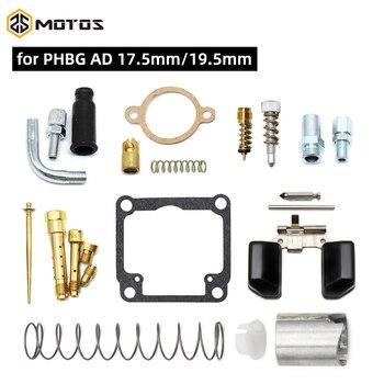 Kit de juntas de reparación de carburador de MOTOS ZS, para Dellorto PHBG /AD, incluye resortes de aguja de flotador, Kits de reparación de Carb