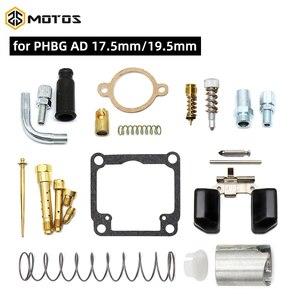 ZS Kit de réparation de carburateur de moto | Dellorto PHBG /AD Racing Carb inclus aiguille flotteur, Kits de réparation de Carb