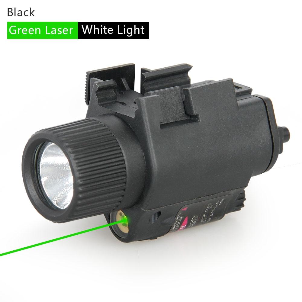 PPT Tactical accessories M6 Illuminator Torch Light 350 lumens LED  green laser Hunting tactical Flashlight