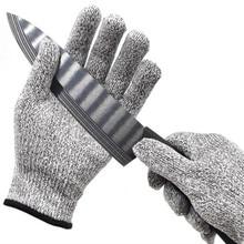 Новые анти-Резные Перчатки устойчивые к порезам ударопрочные проволочная металлическая сетка из нержавеющей стали кухонные защитные перчатки