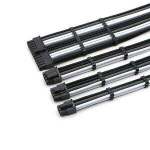 Image 1 - Kit de Cable de extensión básico ATX 24Pin, CPU 4 + 4 pines, GPU 6 + 2 pines, GPU 6Pin Cable de extensión de alimentación.