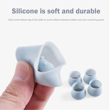4pcs/lot  Non Slip Silicone Table Foot Pad Mat Chair Cover Protector Universal Home Bar use Protector