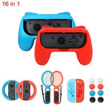 ABS Gamepad Grip Handle Joypad Stand Holder For NS For Nintend Switch Left Right Joy-Con Game Controller alloyseed motion sensing game controller for taiko drum game drumstick kinect handle set hand grip gamepad for nintend switch ns