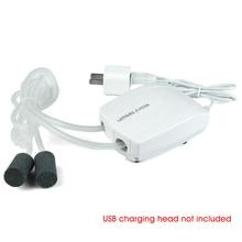 Cable Oxygen-Increase Fish-Tank Air-Pump-Kit Tube-Check-Valves Aquarium Quiet USB