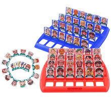 Portable Funny Indoor Tabletop Who Is It Classic Board Game Guessing Games Kids Children Adults Family School Travel Party Toy