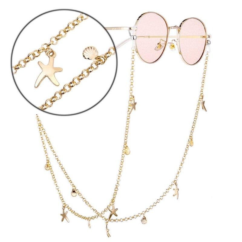 Купить модные очки для глаз солнцезащитные бисер звезда винтажный держатель