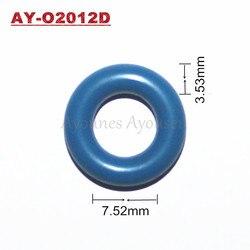 Darmowa wysyłka 500 sztuk GB3-100 gumowe uszczelki gumowe oring z 14.58*7.52*3.53mm nadające się do zestawy naprawcze wtrysku paliwa (AY-O2012E)