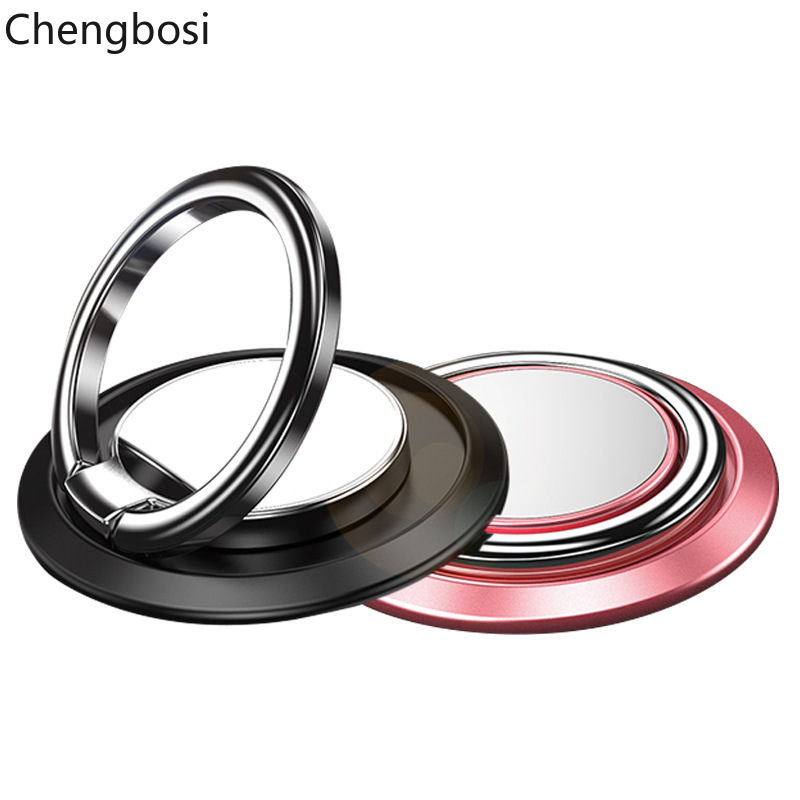 Magnetic Finger Ring Mobile Phone Smartphone Stand Holder For IPhone X 8 7 6 6S Plus Smart Phone IPAD MP3 Stand For Samsung