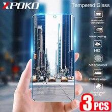 3Pcs Tempered Glass For Samsung Galaxy A20 A30 A40 A70 A50 A20E Screen Protector 9H 2.5D Glass on Samsung J4 J6 Plus A7 A9 2018