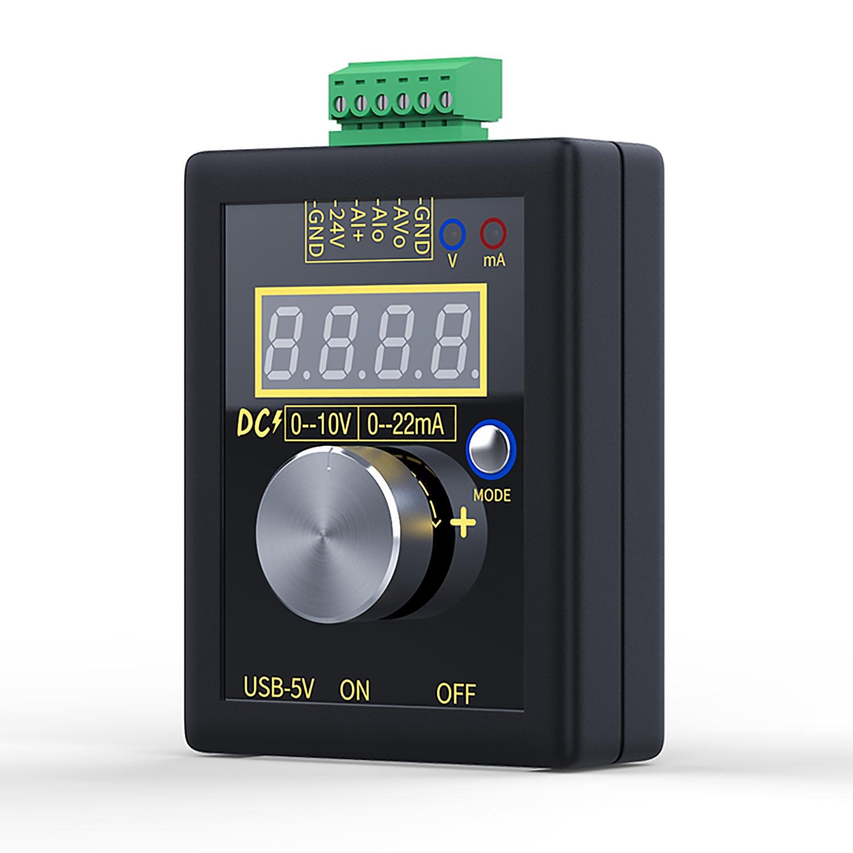 Ручной компактный генератор тока, постоянный ток 0-10 В, 0-22 мА, производитель сигналов напряжения тока