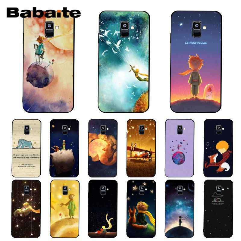 Babaite el Príncipe de la caja del teléfono para el modelo samsung galaxy A7 A50 A70 A40 A20 A30 A8 A6 A8 más A9 2018
