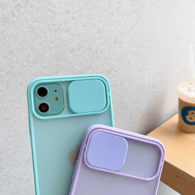 カメラレンズ保護電話ケースiphone 11 12プロmax x xs xr xs最大メイトクリアハードpcカバーiphone 12ミニ6 6s 7 8プラス