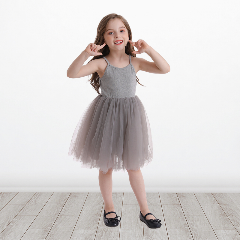 Little Girls Dress For Party Wedding Summer 2021 Baby Kids Dresses for Girls Children's Party Princess Tutu Dress Casual Clothes 2