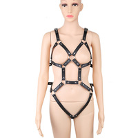 Sexy Body Harness Full Hrajuku Bondage Harnes Bra Full Set Of Bdsm Clothing Sexual Women Bodysuit Harness Set Fetish Costumes