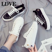 Shoes Woman New Fashion Casual Platform Flats PU Leather Classic Cotton Women Casual Lace-up White Autumn Shoes Sneakers pu leather shoes women white sneakers spring autumn women lace up flats shoes casual woman footwear ladies platform shoes
