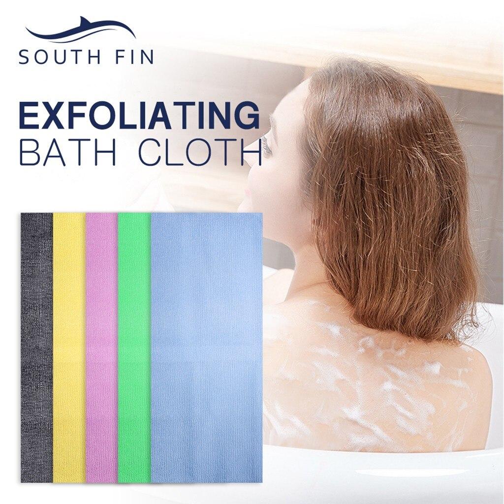 Microfiber Absorbent Bath Towel Soft Shower Towel Soft Quick-drying Washcloth Towel Back Scrubbers Bath Towel Pull Back Towel