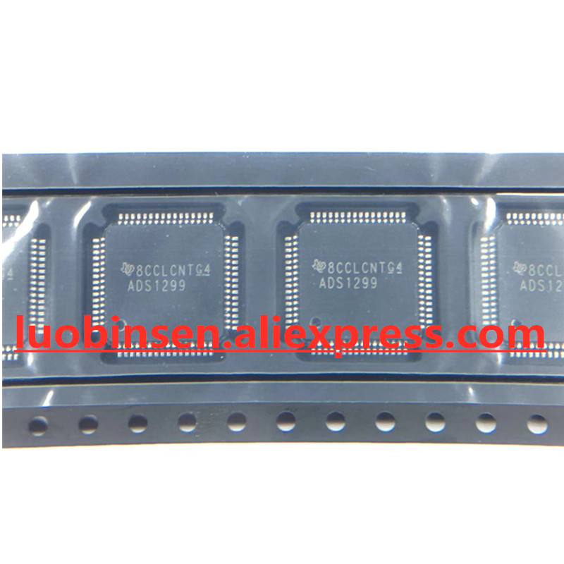 Free Shipping ADS1299IPAGR ADS1299IPAG ADS1299I ADS1299 TQFP64 QFP64